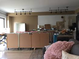 our modern farmhouse kitchen makeover rebuilding the island