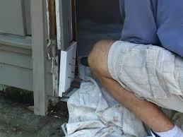 Repair Exterior Door Jamb Fixing Door Rot On A Wooden Door Great Tips