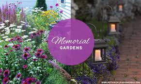 memorial garden creating a memorial garden to honor remember loved ones