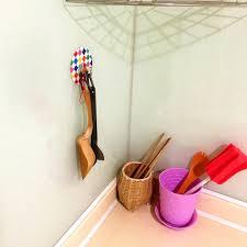 adhesive wall hooks 3pcs set kitchen self adhesive round decorative wall hook reusable
