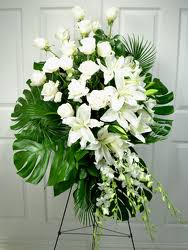 florist in dallas sympathy flowers funeral casket arrangements