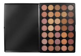 amazon com morphe pro 35 color eyeshadow makeup palette taupe