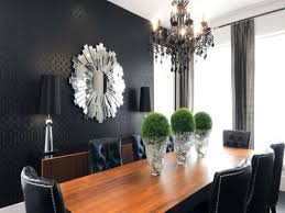 black chandelier dining room home design ideas