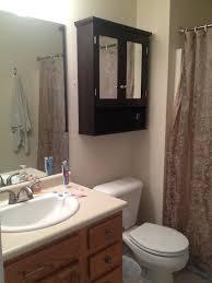 Bathroom Storage Shelving Units by Brown Cabinet Bathroom Hallway Wooden Storage Unit Cupboard Benevola