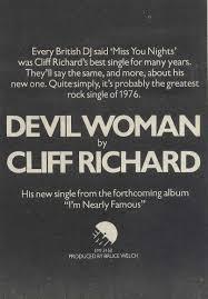 cliff richard song database cliff richard devil woman song