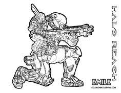 halo coloring pages book uniquecoloringpages halo