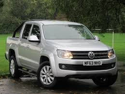 volkswagen truck diesel used silver vw amarok for sale glamorgan