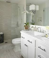 White Small Bathroom  Glamorous  Best Modern Bathroom Design - Small bathroom styles 2