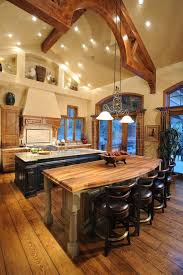 kitchen with 2 islands amazing 2 islands kitchen rustic with high ceilings eat in kitchen