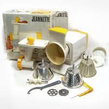 de cuisine moulinex moulinex jeannette de cuisine hachoir vintage 1972