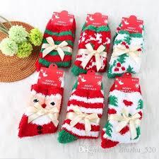 fuzzy christmas socks 2018 thick floor thermal winter indoor socks for women cozzy towel