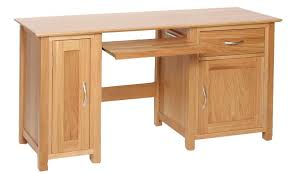 Solid Computer Desk Excellent Z Solid Oak Designer Small Computer Desk