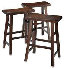Bar Stool Sets Of 3 Saddle Style Bar Stools Brilliant Bar Stool Sets Of 3 Padded Wood