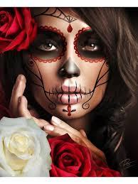 sugar skull costume raquel by daniel esparza mexican sugar skull mask