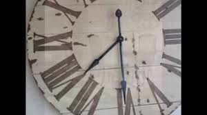 huge wall clocks extra large wall clocks youtube