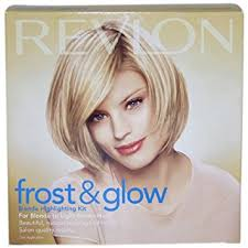 highlights vs frosting of hair amazon com revlon frost and glow highlights blonde light brown