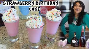 birthday cake martini recipe strawberry birthday cake shots tipsy bartender youtube