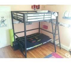 lit en hauteur avec canapé lit mezzanine avec canape lit mezzanine avec clic clac noir et
