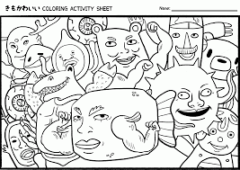 cute kawaii food coloring pages kids coloring