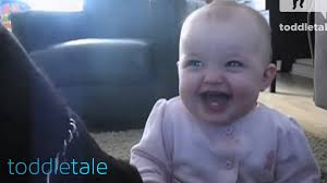 Laughing Baby Meme - baby girl laughing hysterically at dog eating popcorn laughing