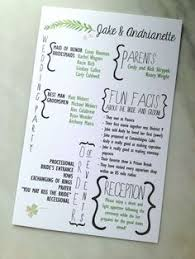 Cute Wedding Programs Wedding Party Graphic Weddingchicks Stationery Pinterest
