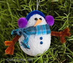 diy as can be snowman ornaments crafts n coffee