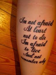 joan of arc quote i m not afraid to die i m afraid to live