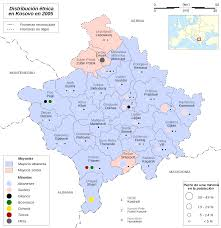 Nationmaster Maps Of Soviet Union by Ethnic Map Of Kosovo In 2005 According To Osce Maps Pinterest