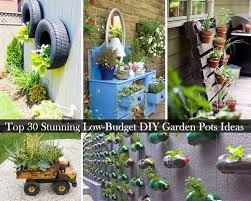 Potted Garden Ideas Top 30 Stunning Low Budget Diy Garden Pots And Containers