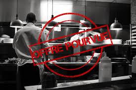 offre d emploi second de cuisine second de cuisine restaurant gastronomique hcr recrutement