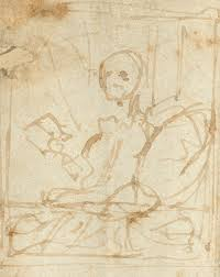 sketches of portraits the fantasy figures identified