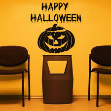 Diy Western Home Decor Dctop Happy Halloween Pumpkin Mask Wall Stickers Vinyl Removable