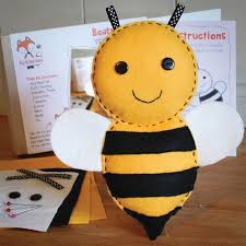 22 best fox and bee crafts felt sewing craft kits images on