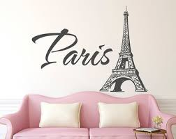 wall decal awesome paris decals wall art ideas paris wall