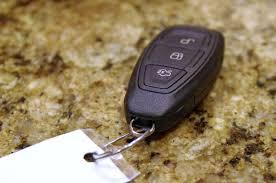 program ford focus key fob keyless ignition backup key blade alt starting lock procedures