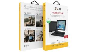 Rugged Ipad Case With Keyboard Zagg Rugged Book Durable Case With Bluetooth Keyboard For Ipad Pro