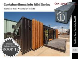 shipping container house plans book