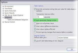Tsql Alter Table Add Column Auto Generate Change Scripts In Sql Server Management Studio Ssms