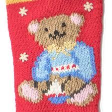 buster bear christmas stocking kit 7019