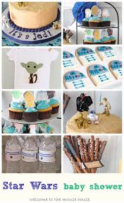 star wars themed baby shower welcometothemousehouse com