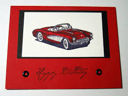 corvette birthday corvette birthday by star2shine cards and paper crafts at