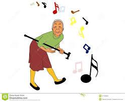 Grandma In Rocking Chair Clipart Guitar Grandma Stock Vector Image 41100850