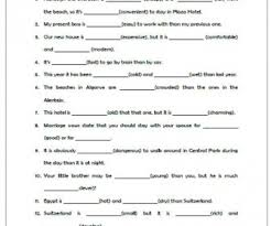 degrees of comparison busyteacher free printable worksheets for