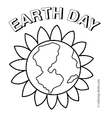 earth day coloring pages happy holidays images