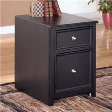black wood filing cabinet 2 drawer signature design by ashley carlyle 60 inch tv stand ahfa tv