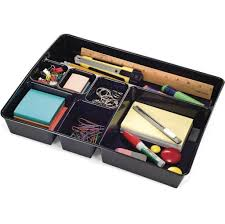 Leather Desk Accessories Organizers by Storage U0026 Organization Black Leather Desk Drawer Organizer Be