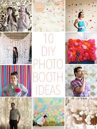 photobooth ideas 10 diy photo booth ideas
