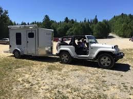 jeep wrangler cargo trailer tiny trailer cer
