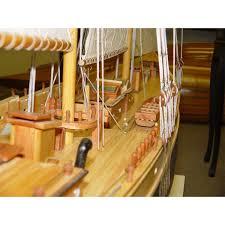 bluenose ii xl yacht sail boats sloop wooden model