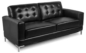 Black Fabric Sofa Sets Living Room Love Seat Recliner Rocking Loveseat Wall Hugger